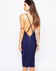 Bec & Bridge Lalla Deep V Dress 1