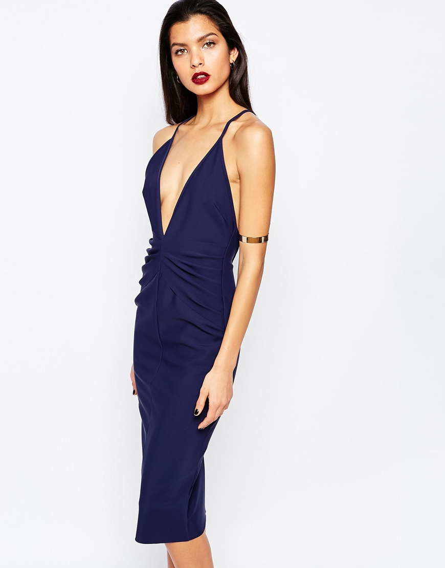 Bec & Bridge Lalla Deep V Dress 4