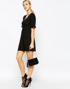 Boohoo A-Line Skater Pocket Dress 3