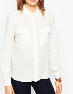 Casual Shirt With Military Pockets 2