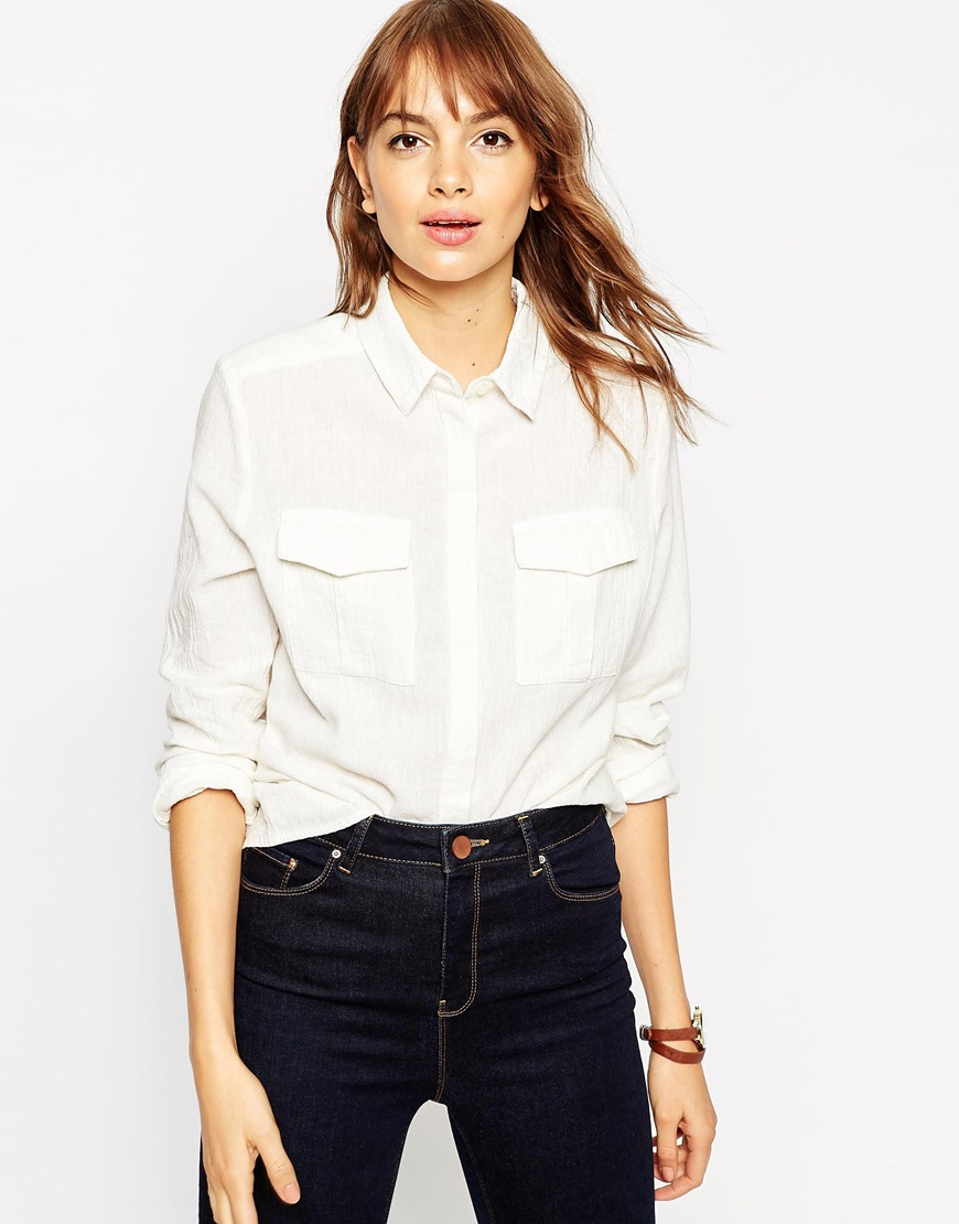 Casual Shirt With Military Pockets 4