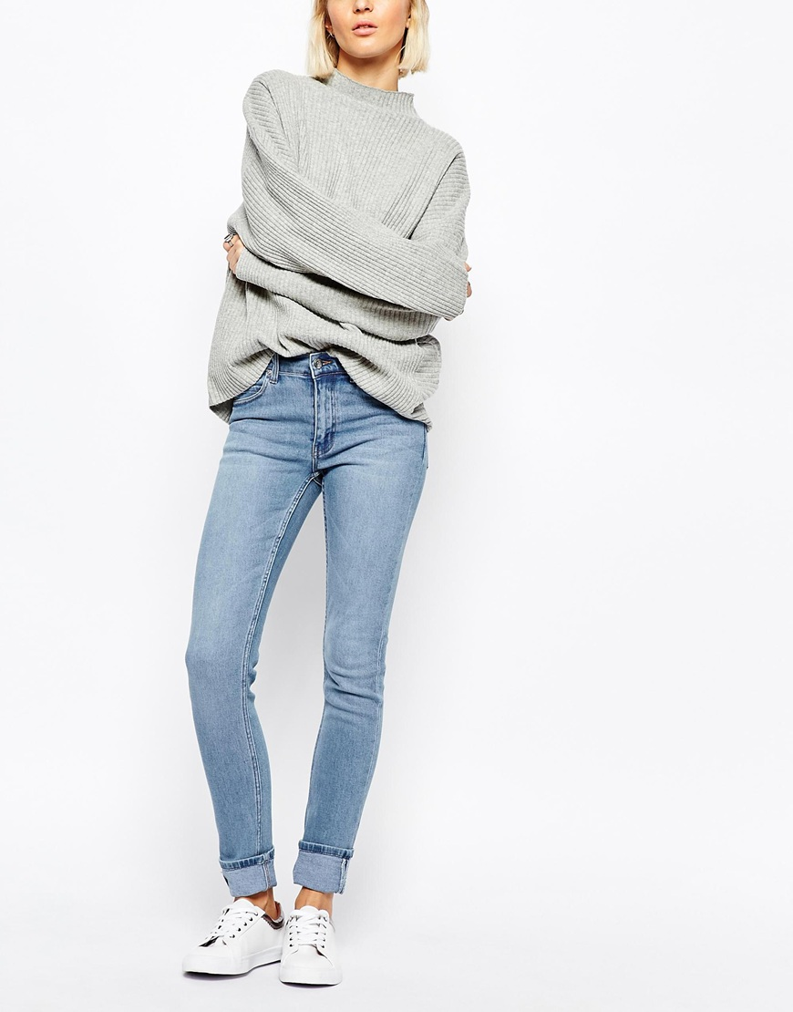 cheap monday tight skinny jeans ootd. Black Bedroom Furniture Sets. Home Design Ideas