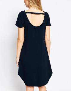 Closet Mini Shift Dress in Crepe 2