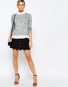 Fashion Union 2 in 1 Shirt Jumper 3