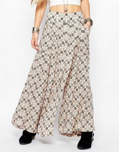 Free People Swept Away Printed Culottes 3