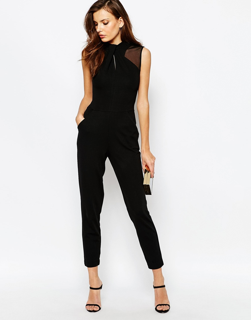 french connection tanya tuck jumpsuit ootd. Black Bedroom Furniture Sets. Home Design Ideas