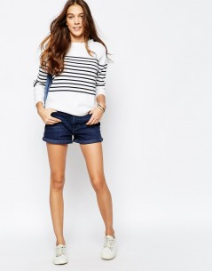 Jack Wills Breton Striped Crew Knit 01