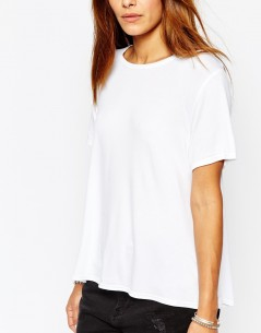 Missguided Dip Hem T-Shirt 2
