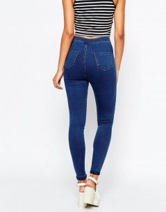 Missguided Highwaisted Super Stretch Jean 1