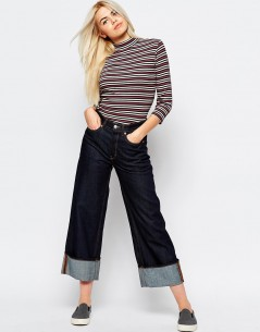 Monki High Neck Stripe Top 3