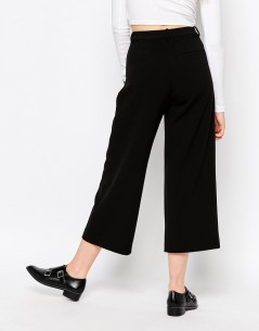 Monki Wide Leg Tailored Trouser 1