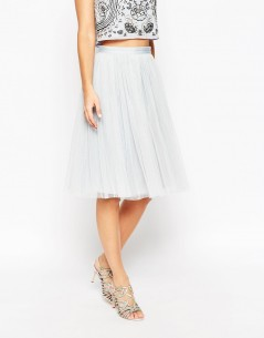 Needle & Thread Tulle Ballet Midi Skirt 3