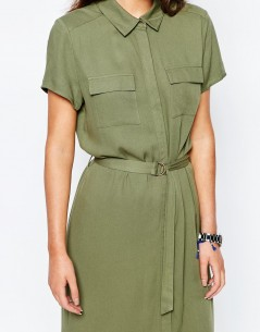 New Look Belted Shirt Dress 2