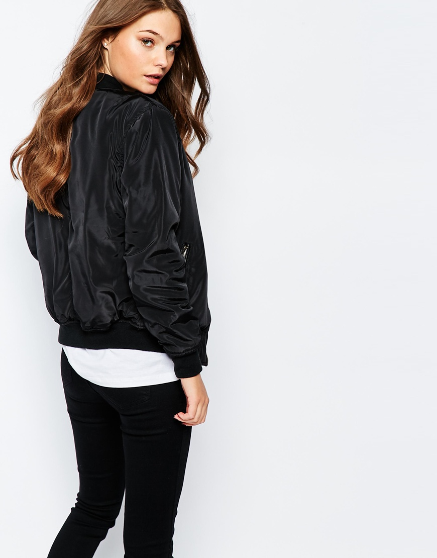 Leather jacket new look - New Look Bomber Jacket Previous Next