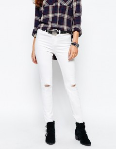 New Look Busted Knee Skinny Jeans 4