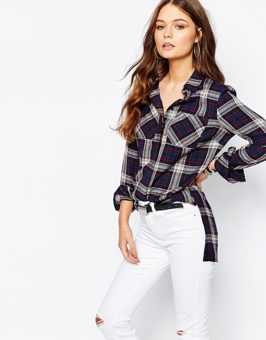 New Look Oversized Check Shirt 4