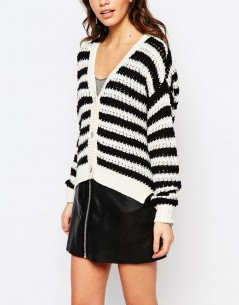 Only Stripe Cardigan 2