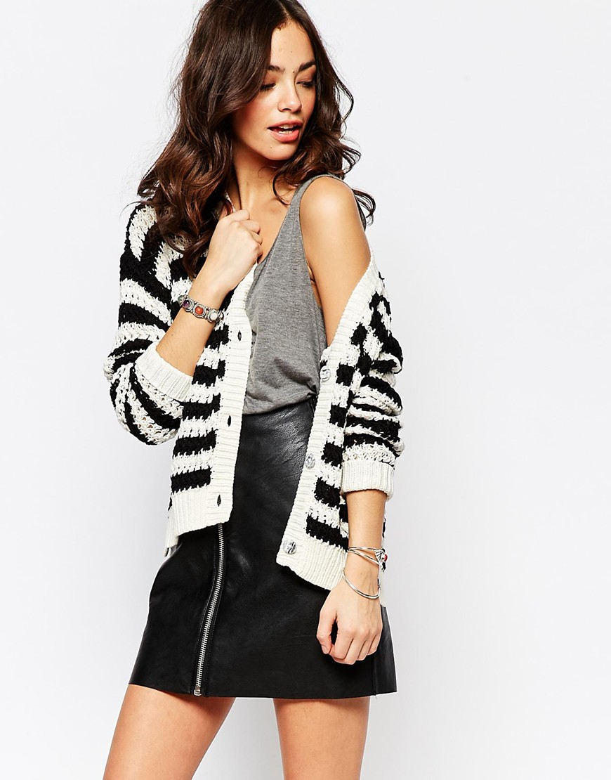 Only Stripe Cardigan 4