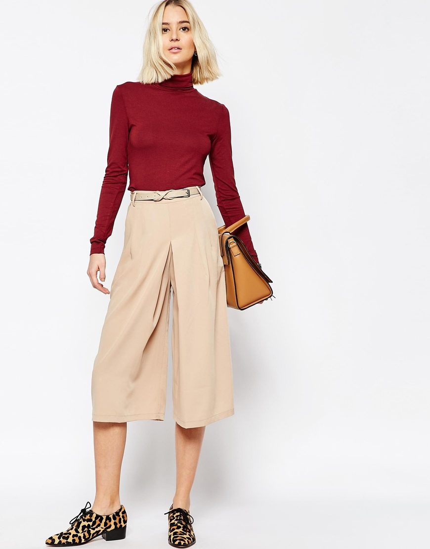 Paisie High Waisted Culottes 4