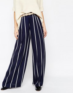 Paisie Striped Palazzo Trouser 3