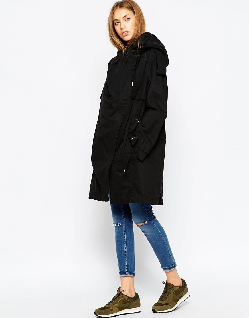 c1d93c950ddf9 Parka with Waterfall and Storm Flap. Previous  Next