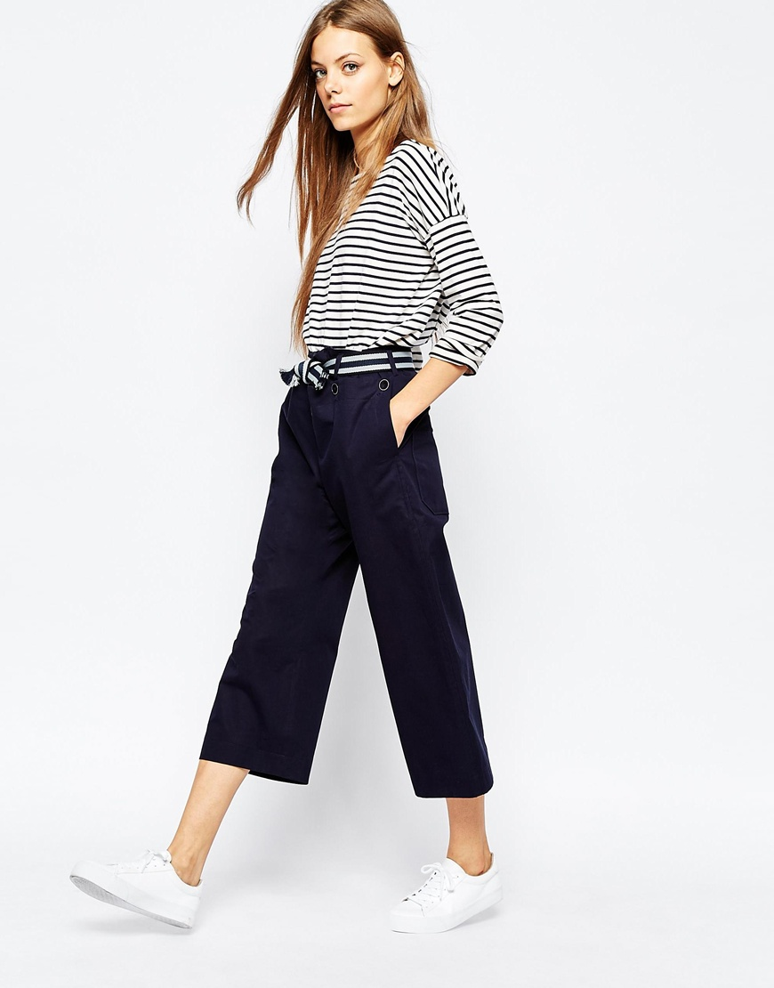 Paul By Paul Smith Sailor Front Trousers 4