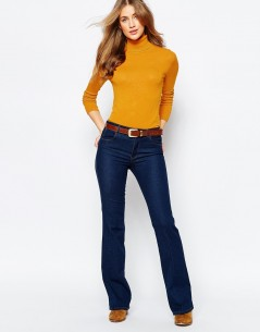 Pull&Bear Rib Polo Neck Jumper 3