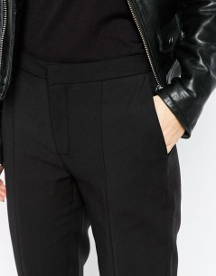 Selected Muse Cropped Pants in Black 2