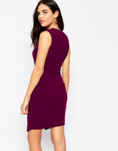 Sleeveless Asymmetric Dress 1