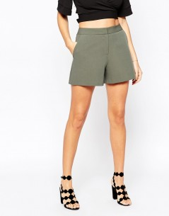 Tailored A-Line Shorts 01