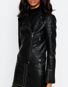 Ultimate Biker Jacket with Piped Detail 2