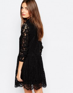 Vila Lace Shirt Dress 1