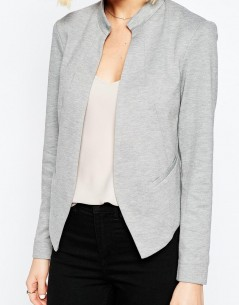Edge to Edge Ponte Blazer with Pocket 01