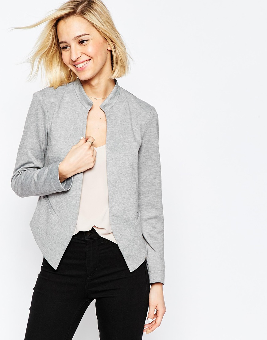 Edge to Edge Ponte Blazer with Pocket 03