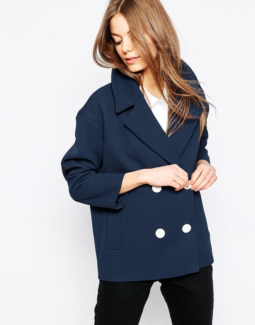 Jacket with Double Breasted Detail 02