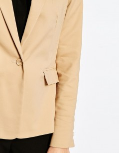 New Look Cotton Tailored Blazer 03