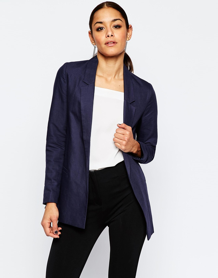 Premium Tailored Linen Blazer 01