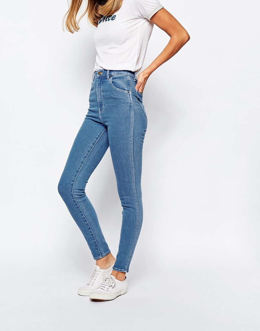 7 For All Mankind Women's High-Waist Ankle Skinny Jean In Bastille Grey Skinny ankle jean in medium wash featuring five-pocket styling and whiskering at hips Zip fly with button closure 7 For All Mankind Women's High-Waist Slim Illusion Skinny with Contour Waistband Jean out of 5 stars $ - $ /5(17).