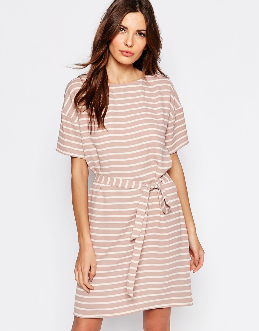 Selected Rosie Dress with Tie Waist 02