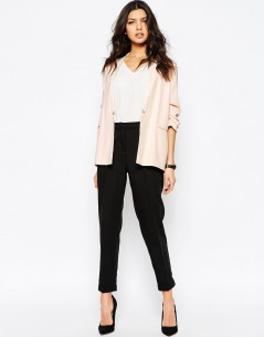 River Island Ruched Sleeve Blazer 03