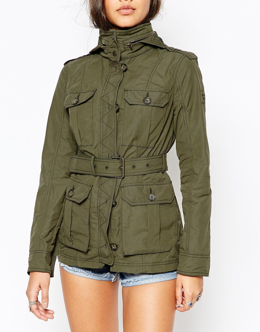 Abercrombie & Fitch Military Parka Jacket | OOTD