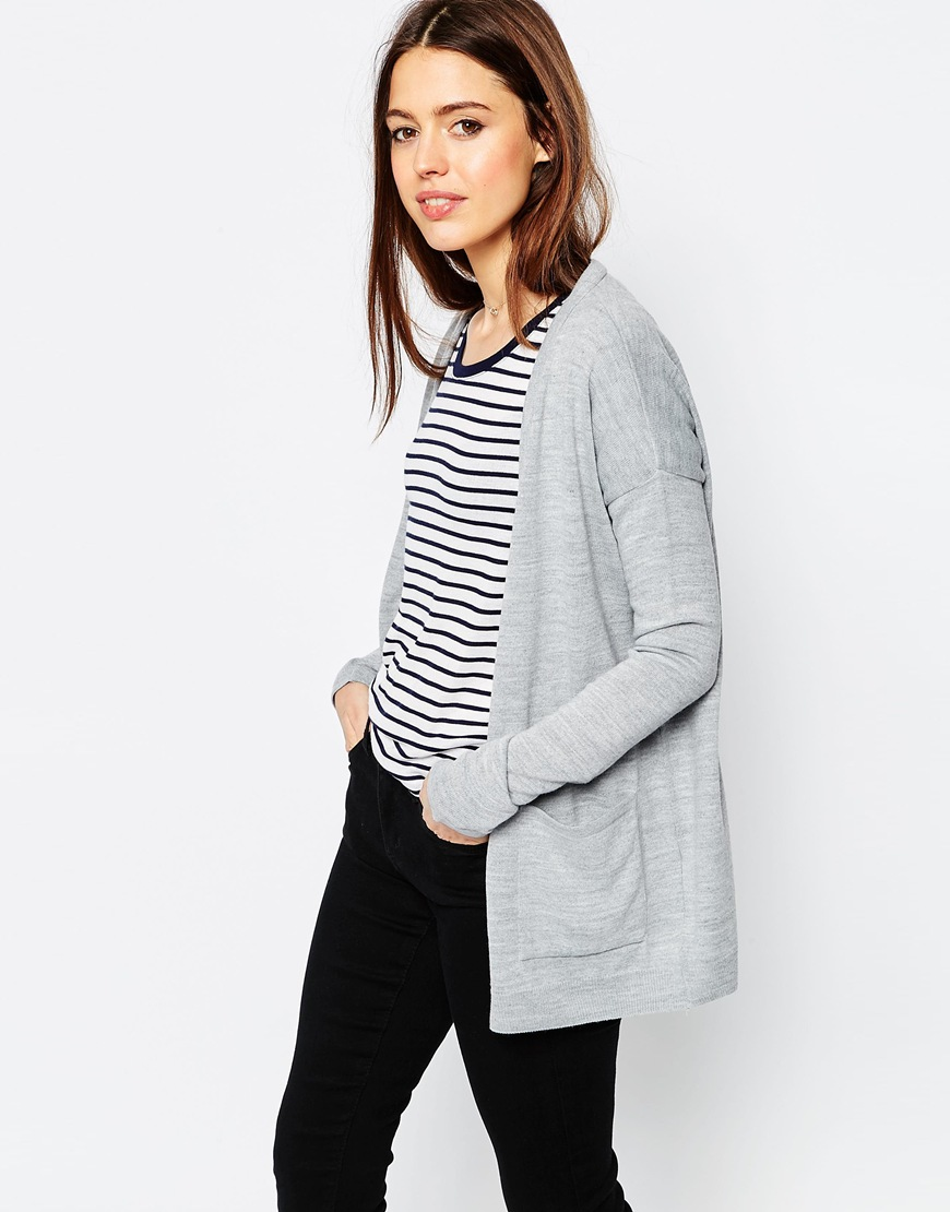 2c834512af Oversized Cardigan In Fine Knit. Previous  Next