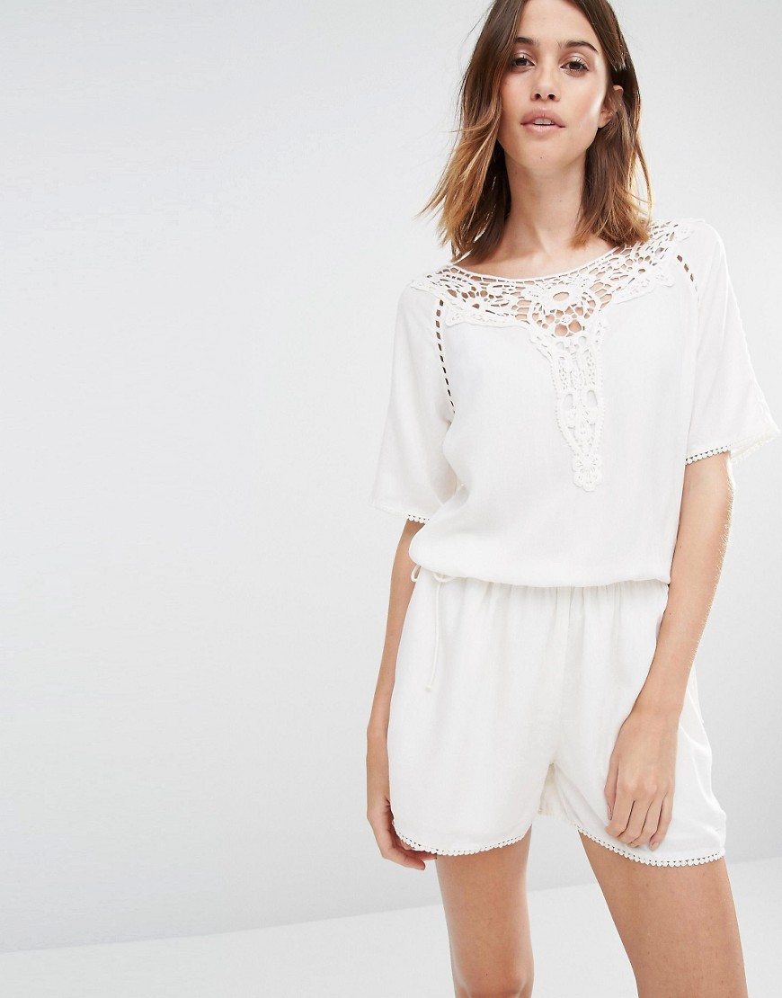 c39e0ba7751 Vila Crochet Detail Playsuit. Previous  Next