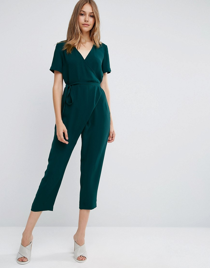 Jumpsuit with Wrap and Self Tie 01