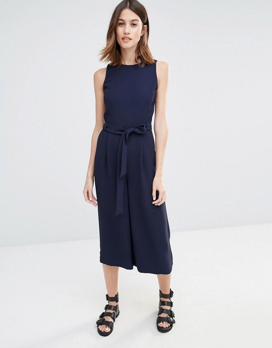 Warehouse Culotte Jumpsuit 01