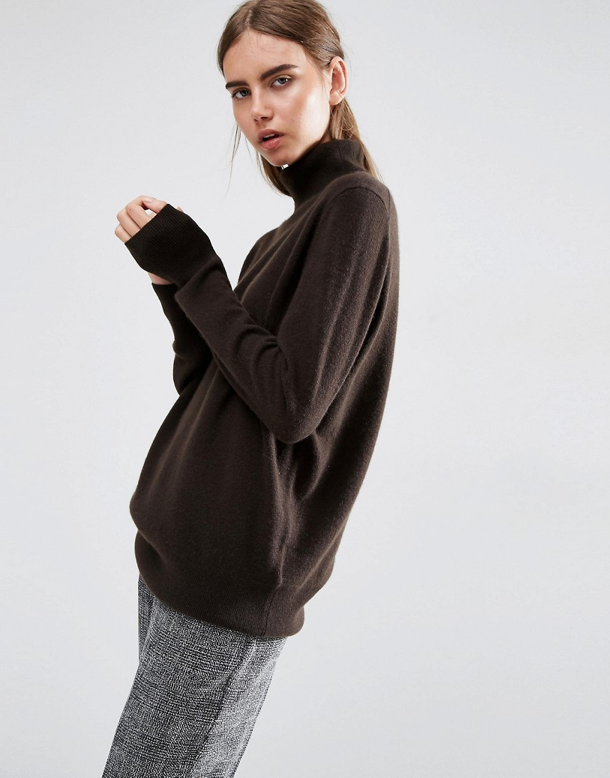 Cashmere Roll Neck Jumper 01