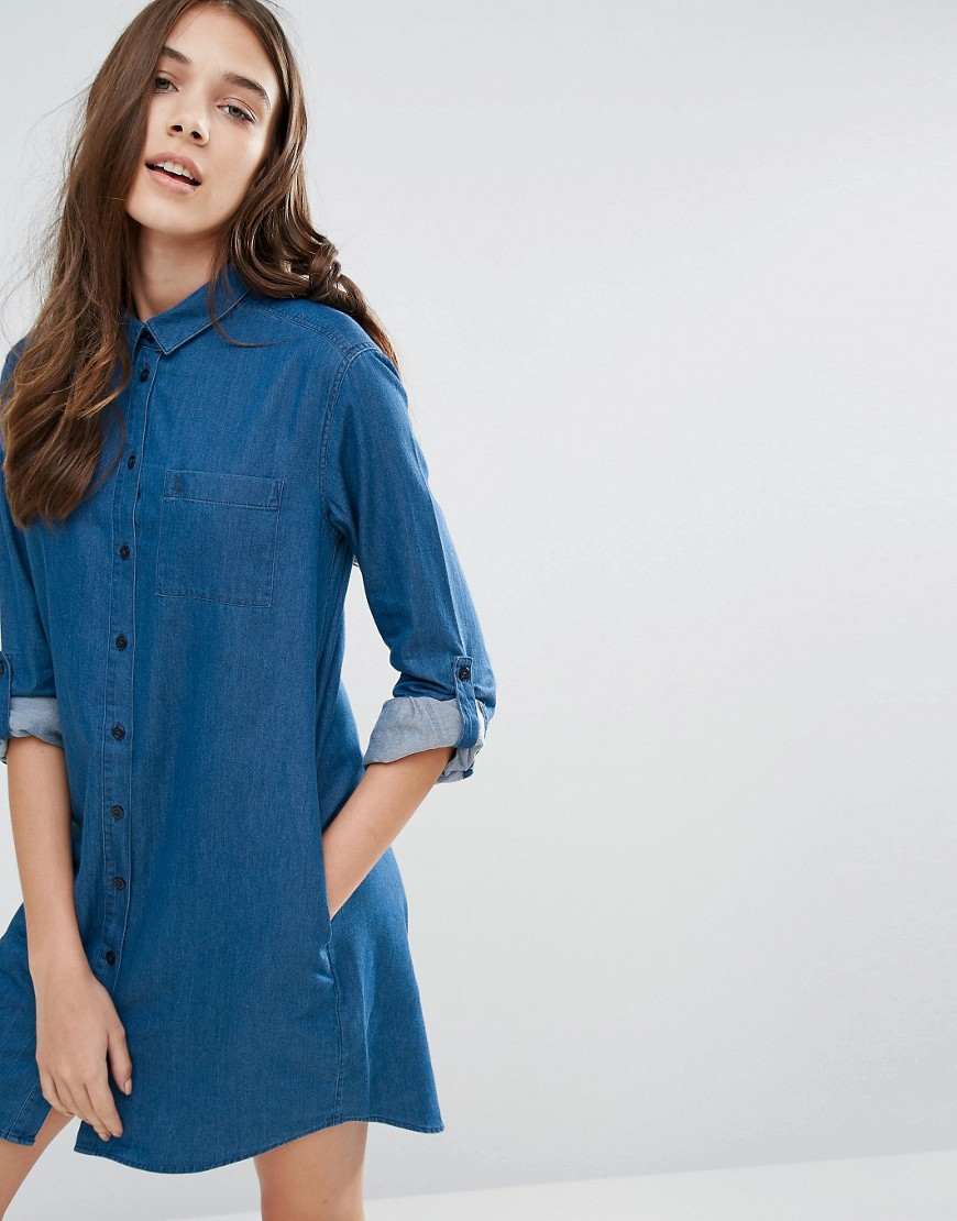 Jack Wills Maggie Chambray Shirt Dress Ootd