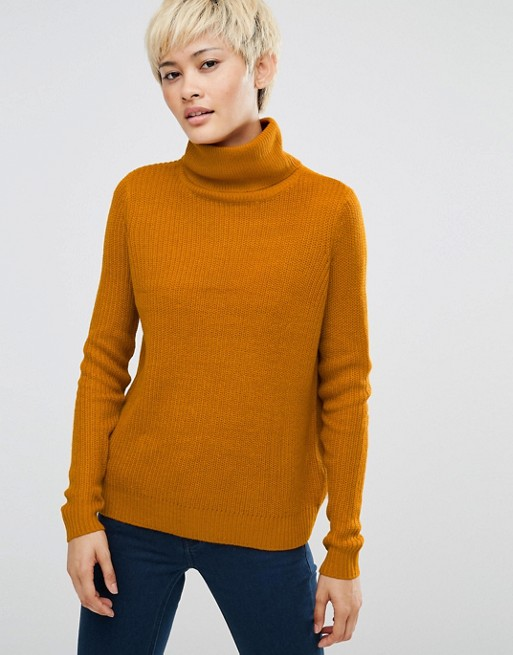 J.D.Y Roll Neck Knit Jumper