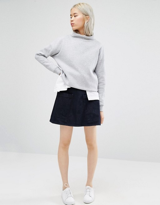 Waven Ina Skirt with Pockets