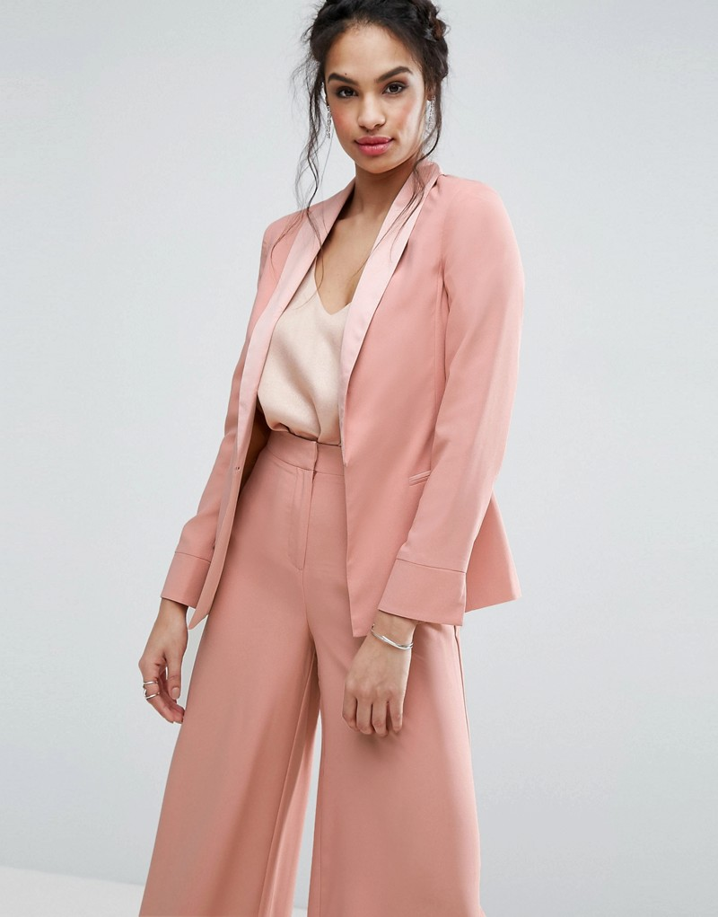 Matte and Shine Soft Blazer
